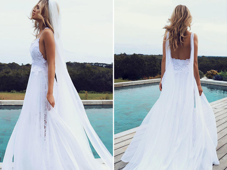 The Most Pinned Wedding Dress of Pinterest